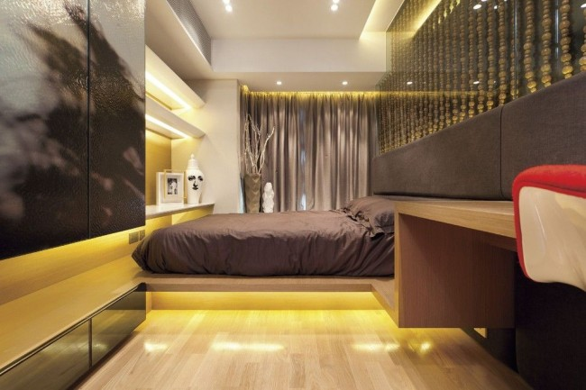 Chambre high-tech spectaculaire