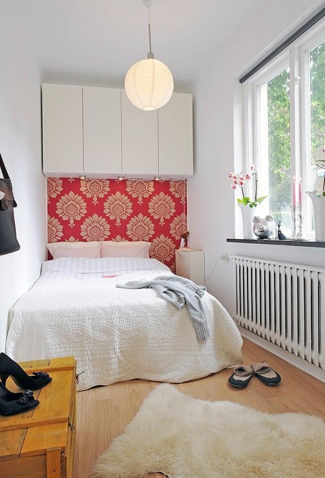 Petite chambre cosy et bien éclairée