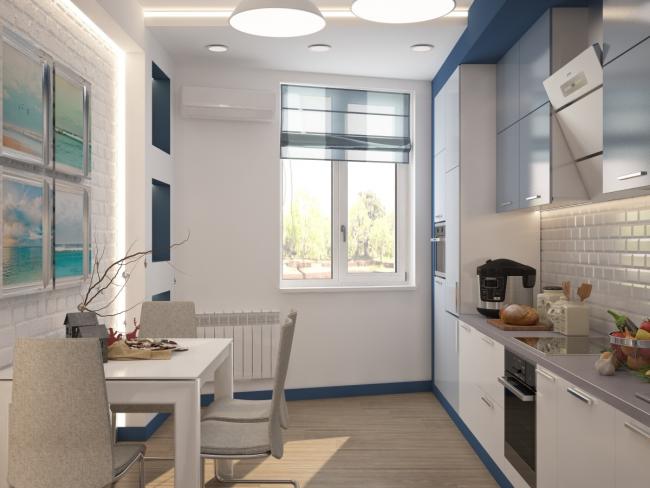 Une petite cuisine n'est pas une phrase, mais une occasion de faire preuve d'imagination et de créativité