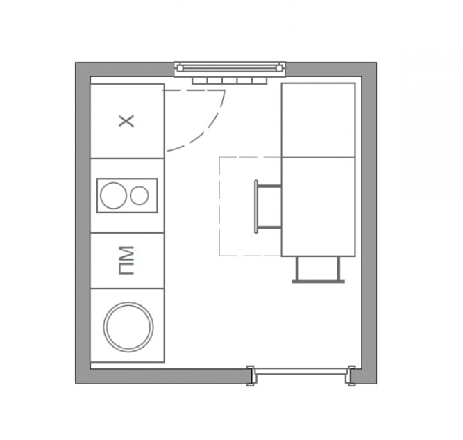 aménagement 4 mètres carrés