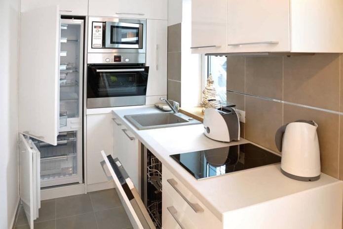 aménagement d'une petite cuisine