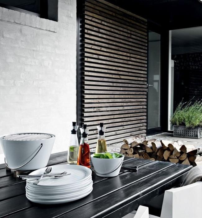 Un barbecue de table élégant s'intégrera parfaitement dans votre intérieur