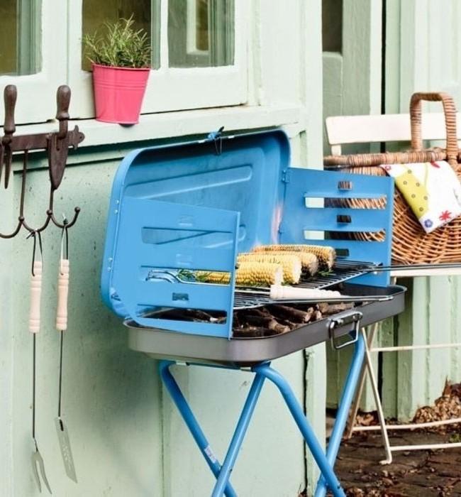Le barbecue portable est pratique, mais pas durable