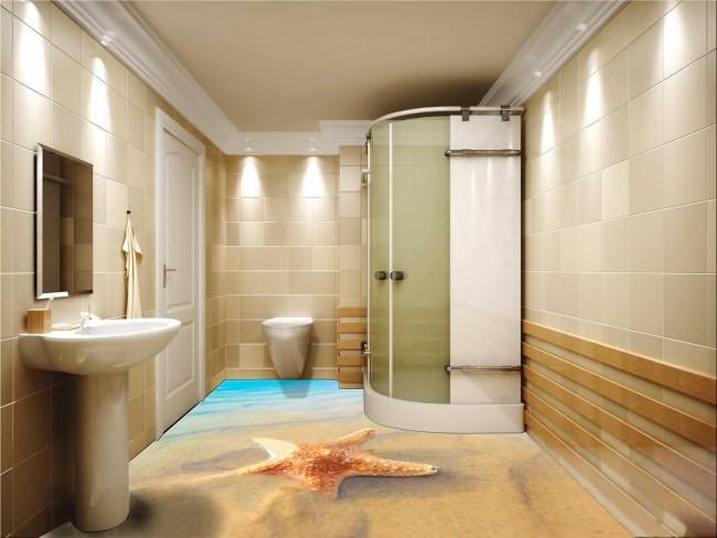 Les sols 3D autonivelants sont une technologie de pointe pour la décoration de la pièce