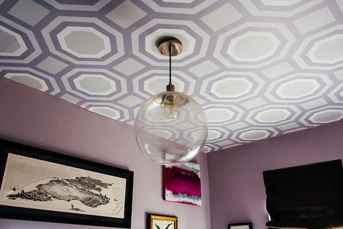 papier peint plafond en vinyle