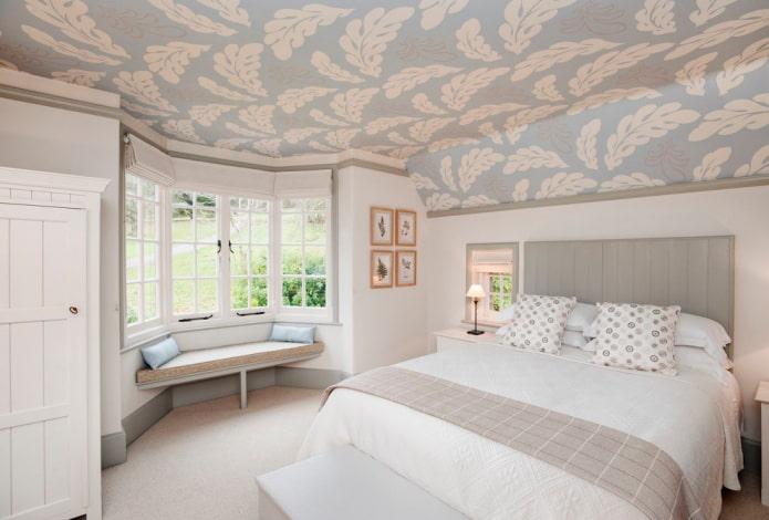 papier peint plafond lavable