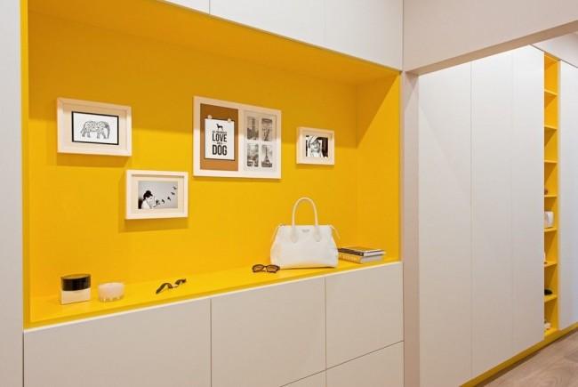 Le couloir est la première pièce que voit toute personne entrant dans la maison ou l'appartement.