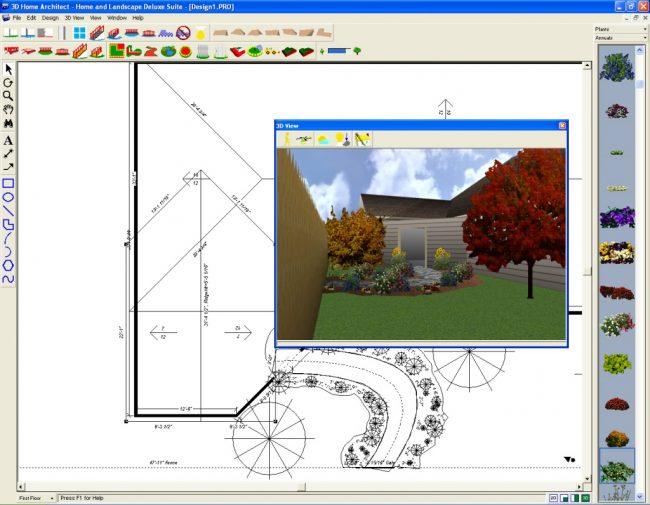 Logiciel de conception de maison 3D Home Architect