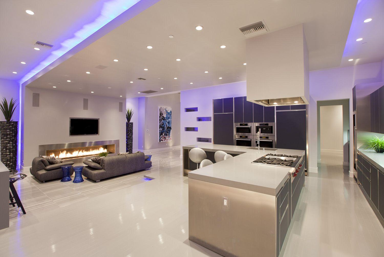 Beaucoup de lumière, d'espace et d'innovations techniques sont les principales caractéristiques du style