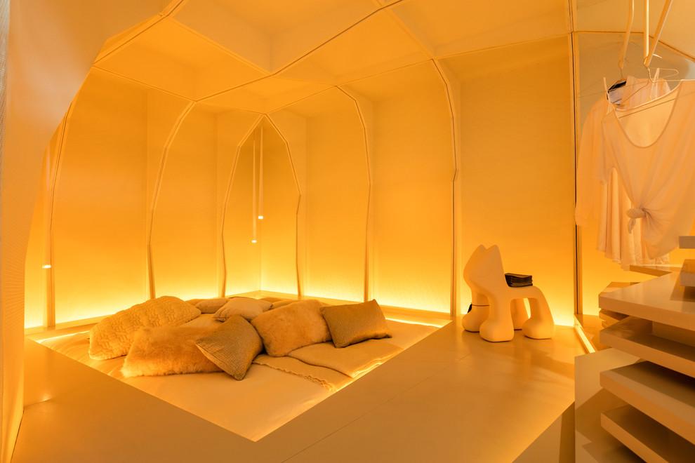 Contrairement aux idées reçues, un intérieur high-tech peut être chaleureux et cosy.