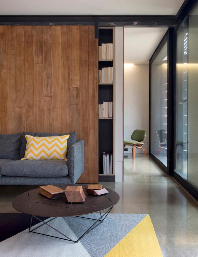 Intérieur d'un salon confortable dans un style moderne