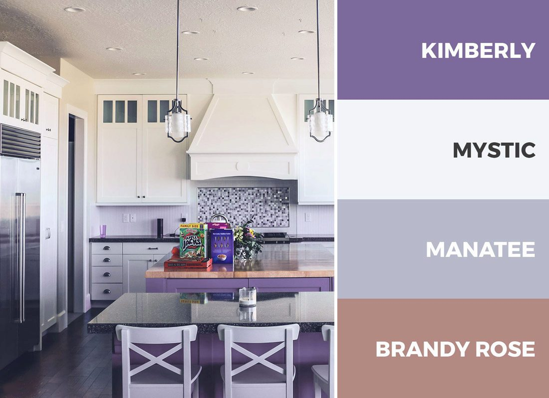 À première vue, les couleurs ternes et ternes peuvent créer un bel intérieur harmonieux.