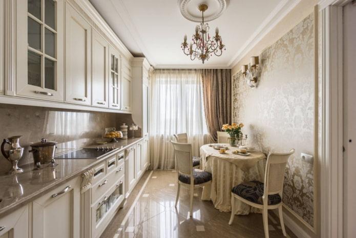cuisine beige classique