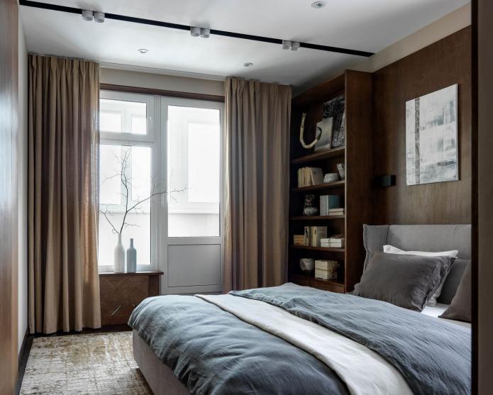 meubles de la couleur des murs