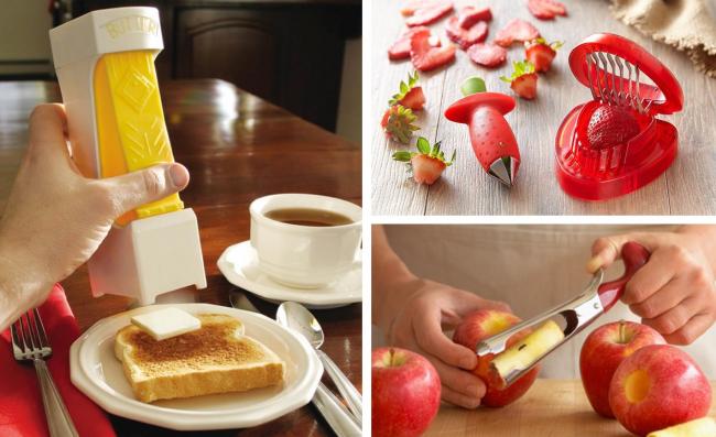 Les gadgets de cuisine ne cessent d'étonner par leur caractère unique et leur ingéniosité.