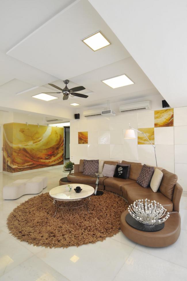 Les plafonds en plaques de plâtre sont devenus très populaires