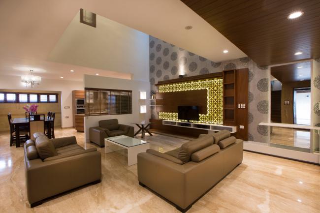 Mur d'armoire avec design décoratif