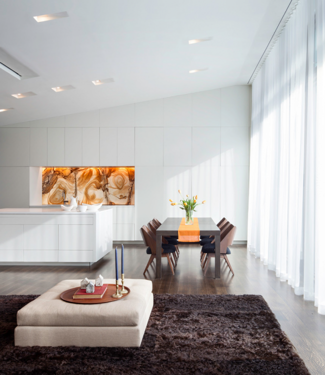 Intérieur de cuisine minimaliste