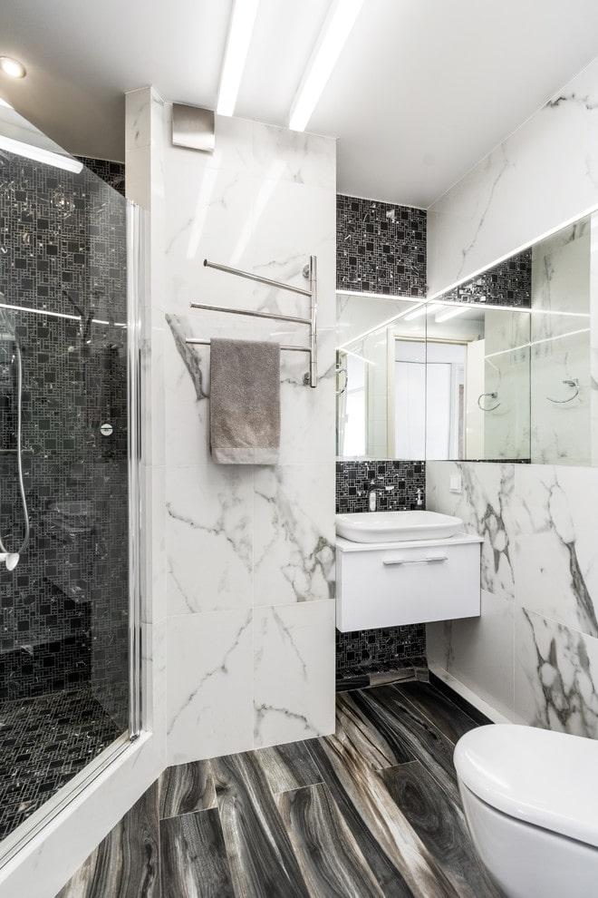 Décoration d'intérieur en marbre
