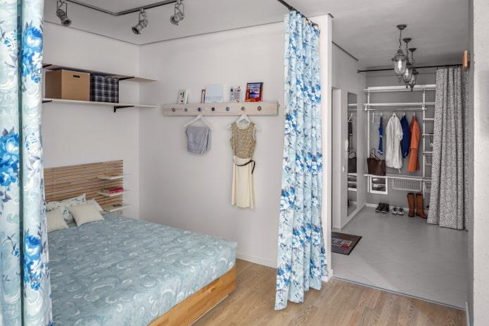 intérieur d'un studio 40 carrés