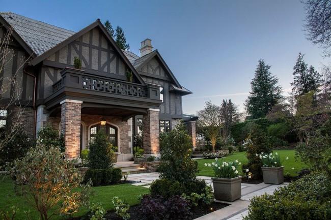 Luxueuse villa à colombages