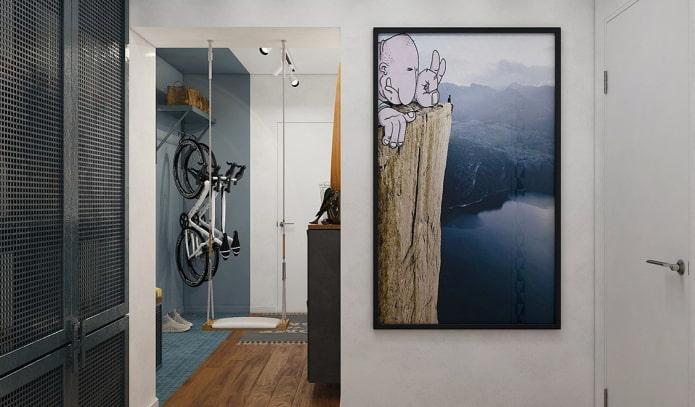 image verticale à l'intérieur du couloir