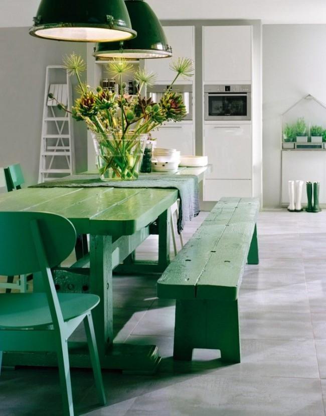 Verts sur fond blanc - juteux, lumineux, frais