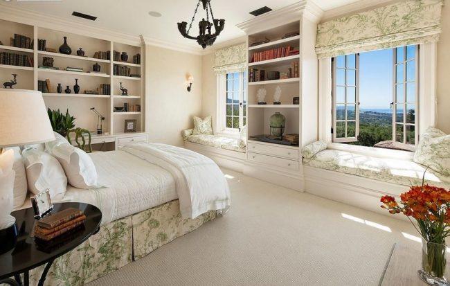 Style italien classique dans la conception de la chambre