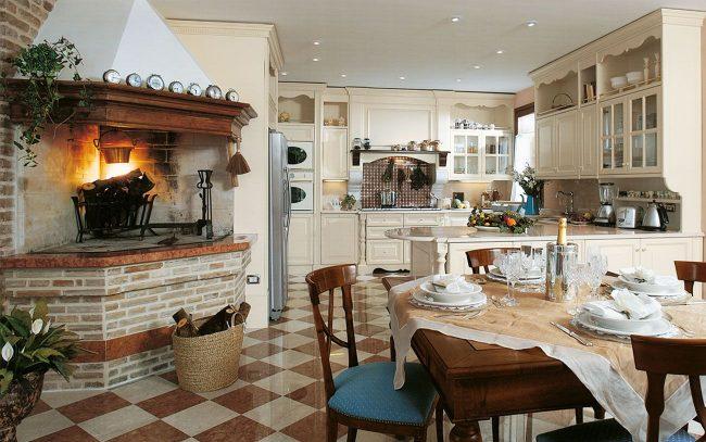 Cuisine confortable à l'italienne