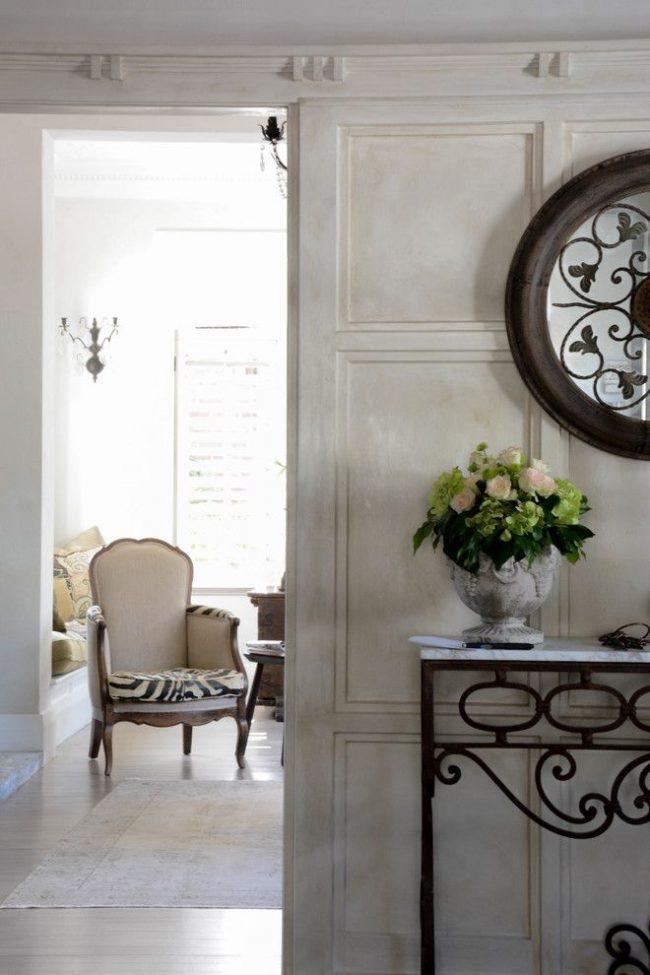 Beaux meubles et intérieurs de décoration de style italien