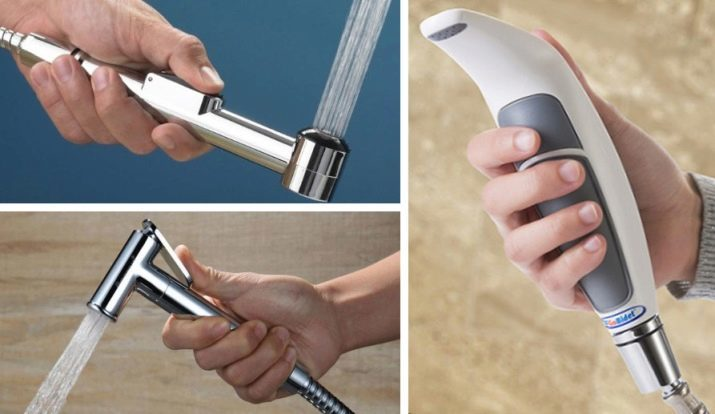 Lorsque vous choisissez un ensemble de douche hygiénique, faites attention au design de l'arrosoir et choisissez celui qui conviendra à tous les membres de la famille.