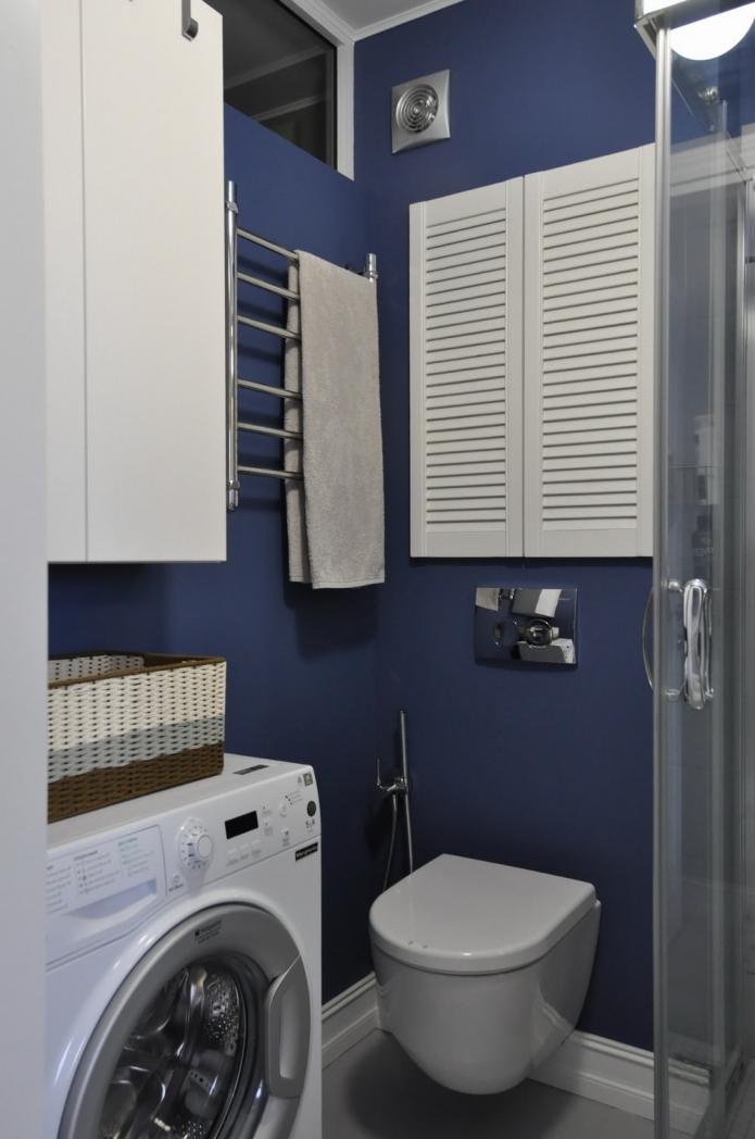 WC et système de rangement