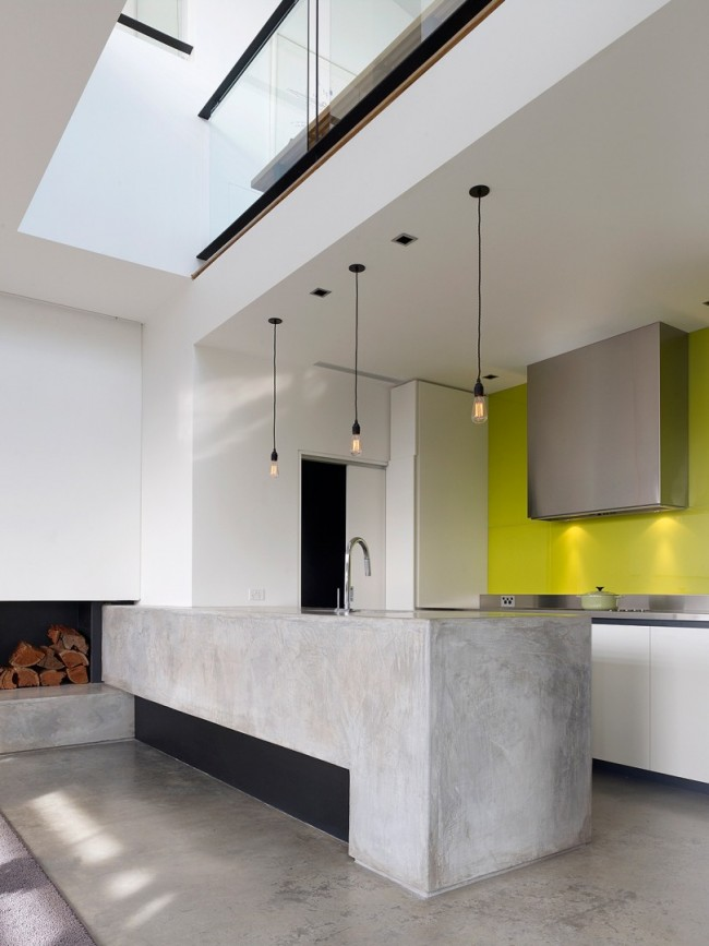 Les plafonds en plaques de plâtre sont très élégants