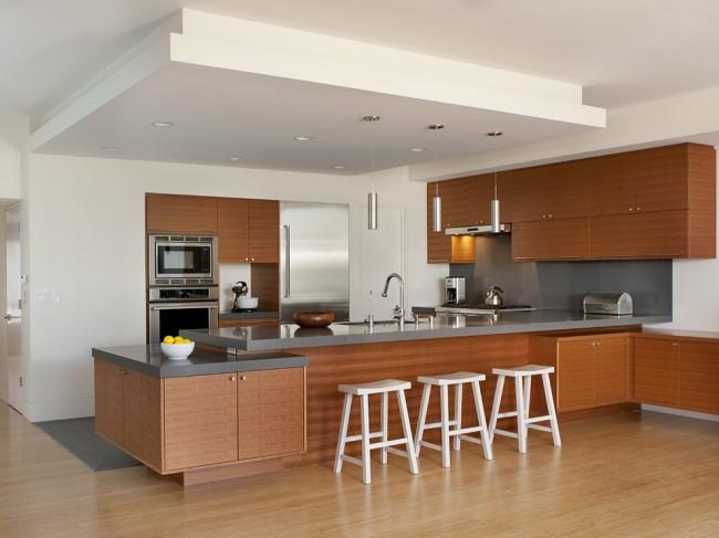 Style moderne à l'intérieur de la cuisine