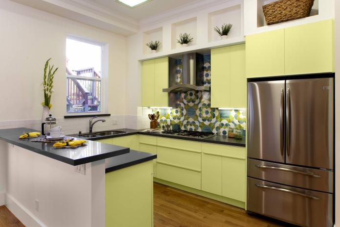 cuisine vert clair
