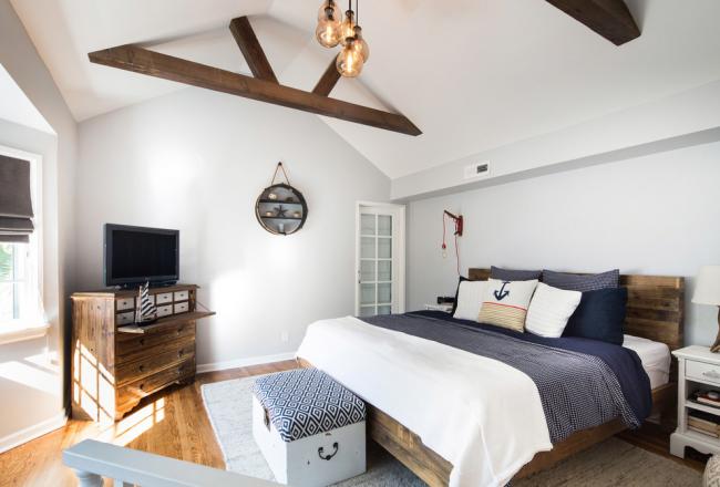 Conceptions de chambre de style plage simples et efficaces
