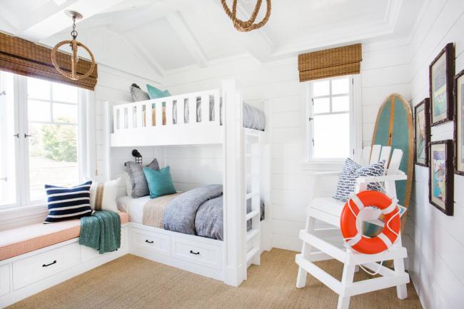 Le blanc est idéal pour décorer une chambre