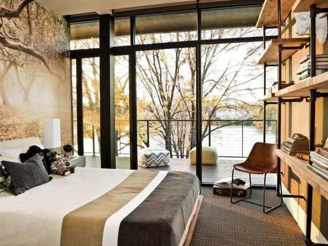 Chambre avec une belle vue sur l'étang