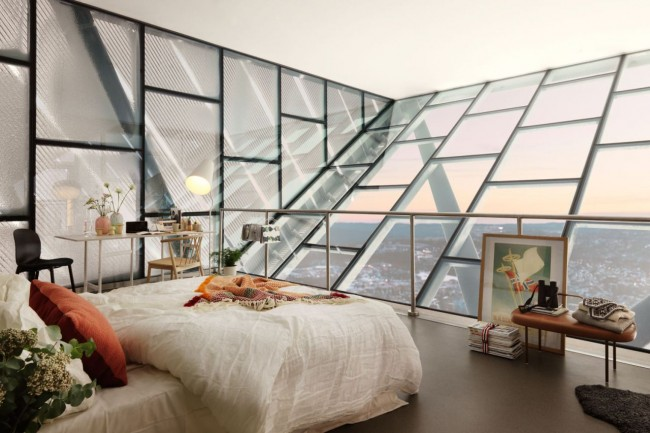 Les portes-fenêtres ont été créées pour la lumière et la beauté de la vue