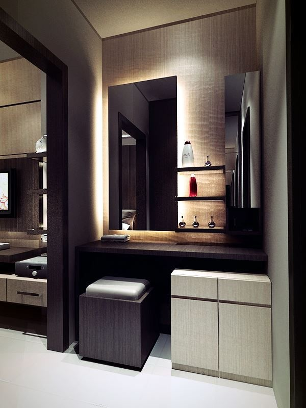 Construction MDF minimaliste qui s'intègre dans l'intérieur le plus austère voire masculin