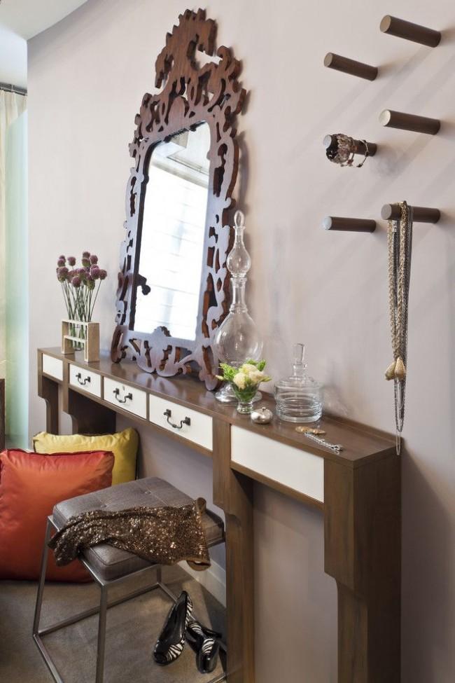 Les variétés en porte-à-faux étroites peuvent être placées même dans une pièce où il y a très peu d'espace