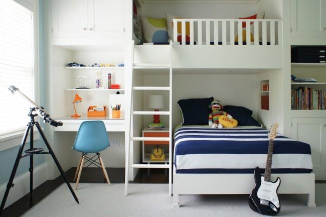 Une solution compacte pour une petite pépinière, qui aidera à utiliser efficacement l'espace dans la pièce