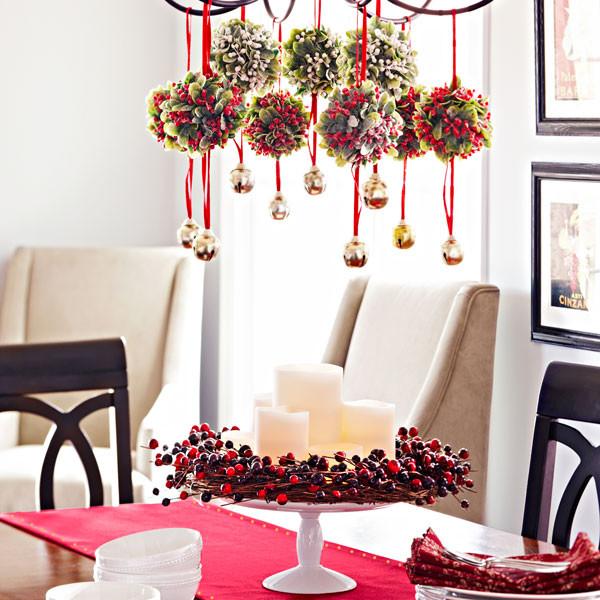 Décoration de Noël pour salon et salle à manger