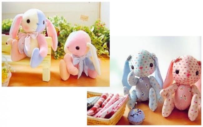 Ce sont des jouets mignons que vous pouvez coudre de vos propres mains pour un enfant.
