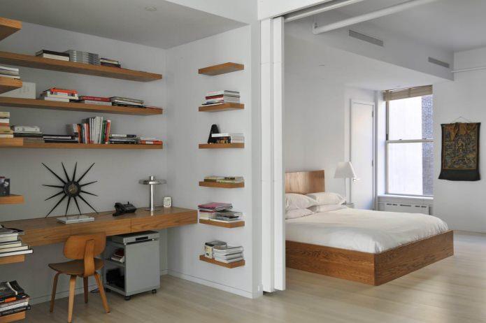 conception d'armoires dans la chambre