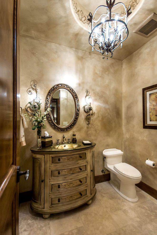 Les propriétés d'imperméabilisation du plâtre décoratif vous permettent de l'utiliser à la fois dans la cuisine et dans la salle de bain