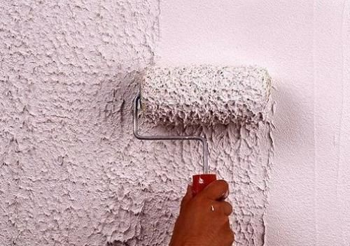 Le rouleau vous permettra de créer rapidement et efficacement une finition texturée