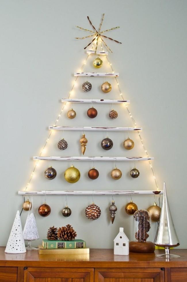 Plus il y a d'arbres de Noël dans la maison, plus l'ambiance est festive.
