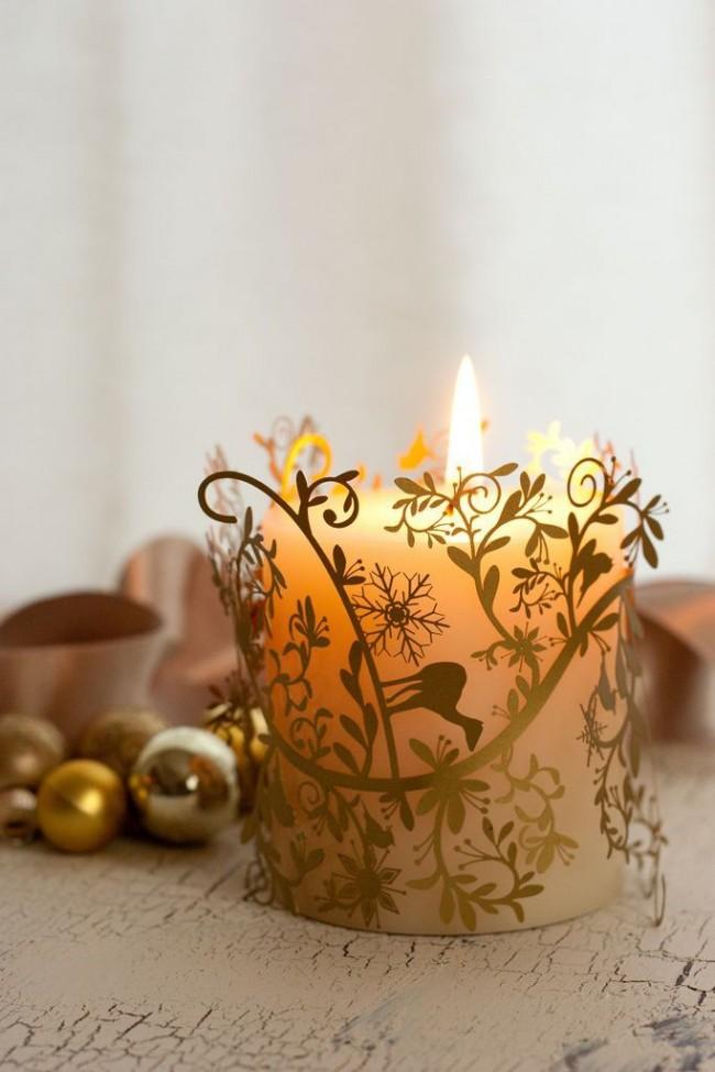 Les bougies ajoutent de l'élégance à n'importe quel coin de votre maison