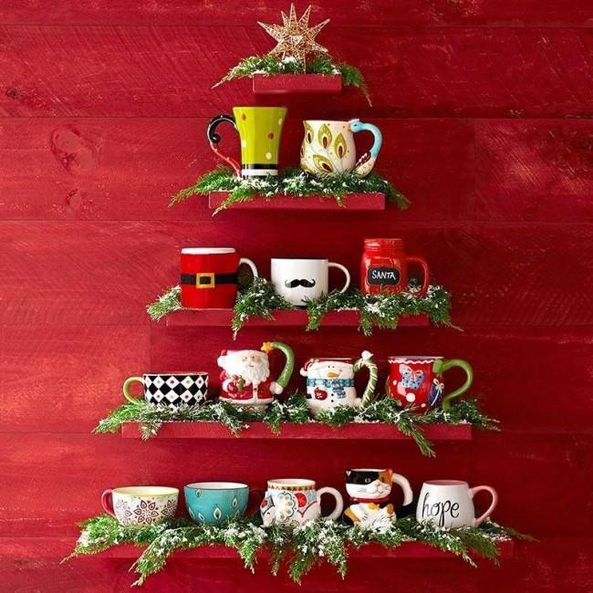 La décoration de la maison pour le Nouvel An est un processus amusant pour toute la famille.